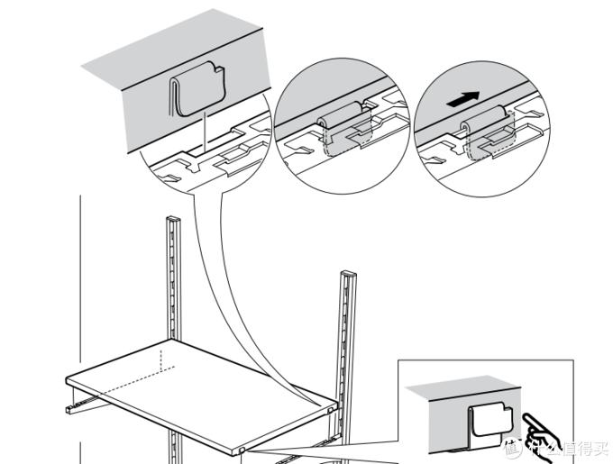 像订制那样灵活多变的储物系列产品——艾格特搁架