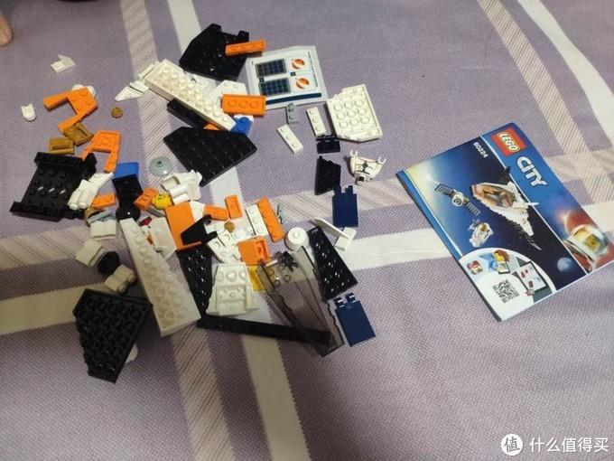 火影探测航天飞机的附属品60224太空卫星任务