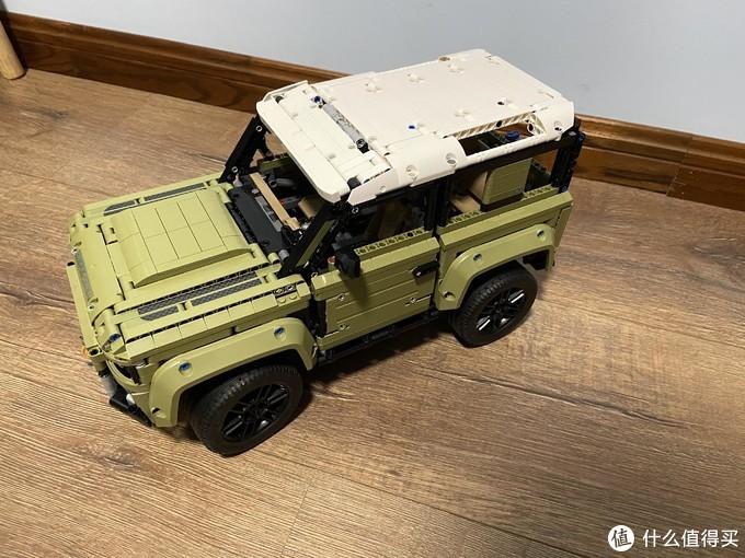 哪个男孩不想拥有一辆属于自己的路虎——乐高LEGO 42110科技系列路虎卫士评测