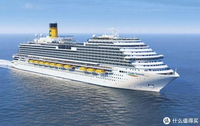歌诗达威尼斯号:船身长323.6米,载客人数5260人