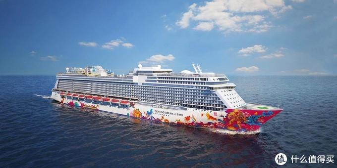 星梦世界梦号:船身长335米,客房数量1686间,载客人数3376人