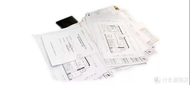 上图:装修合同及附件