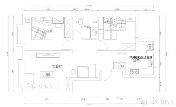 上图:装修设计师作品
