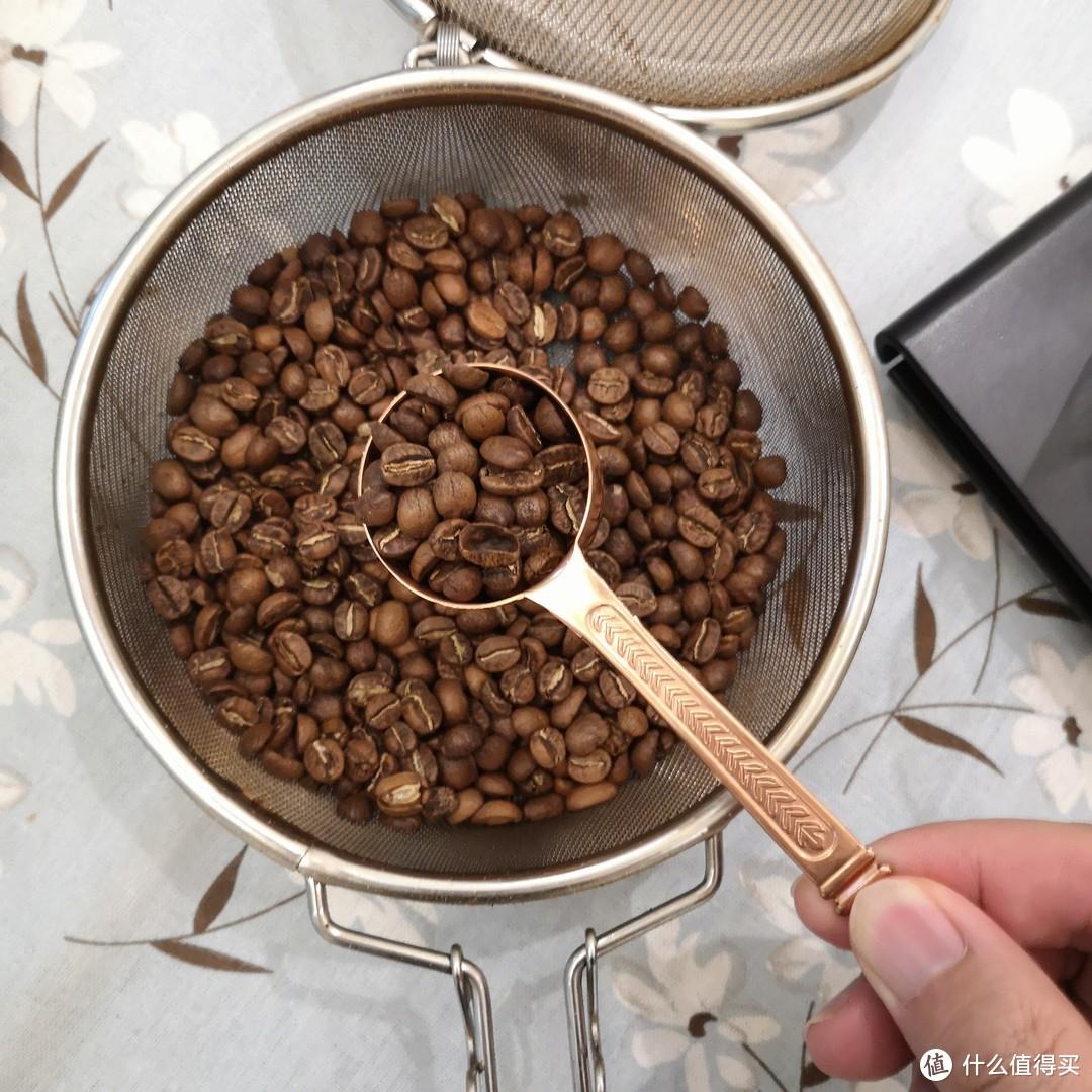 小投入喝到新鲜的咖啡豆,手网烘焙