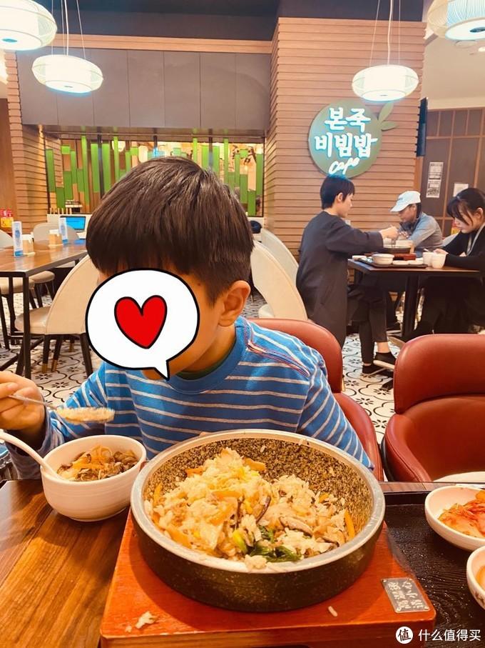 机场的韩国餐馆很好吃