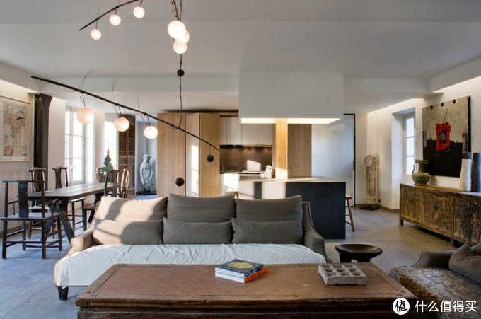 室内案例中的老家具,实木材质
