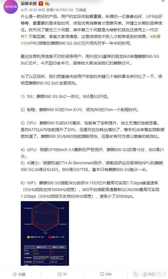 麒麟990 5G SoC领先对手一年半;米家声波洁面仪发布