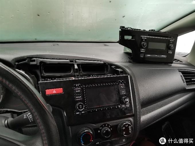 飞度改装XRV中控屏幕教程