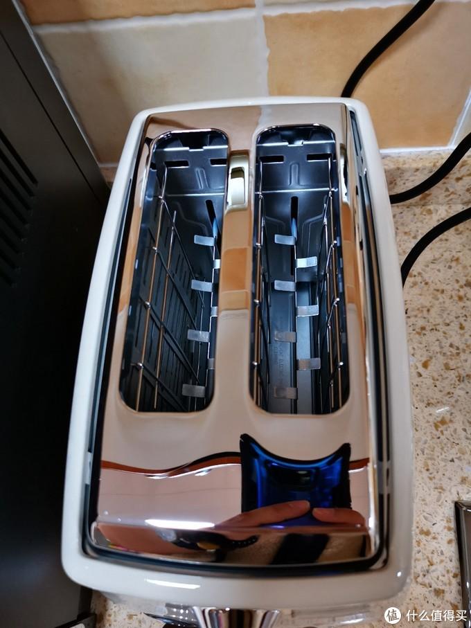 德龙 icona 复古 烤面包机