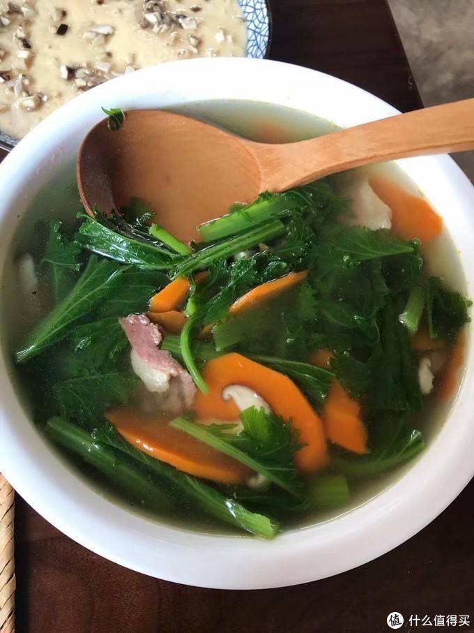 既下山的苦菜汤