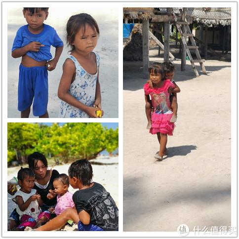 巴瑶族的小孩子,带点零食给他们,他们会很开心的