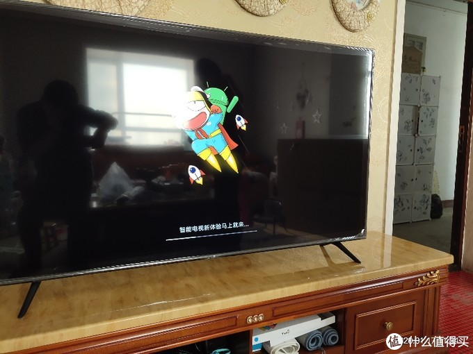 米家电视机4X不专业简单开箱