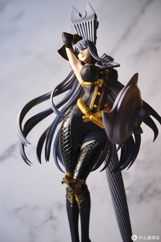 高挑御姐女武神扛大剑 VERTEX 战场女武神--塞露贝莉娅 手办测评