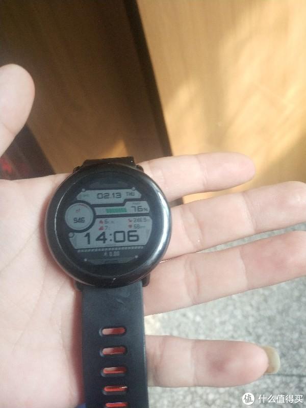 华米运动手表一代简测
