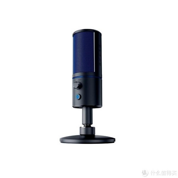 PlayStation4官方认证:Razer 雷蛇 发布 魔音海妖X PS4版 电容麦克风