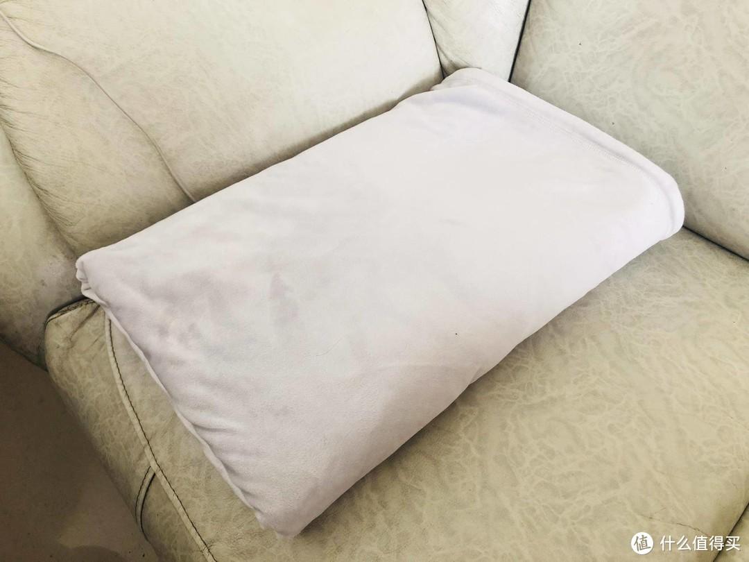 披上毯子,追剧完后竟然全身舒坦,什么毛毯这么神奇?