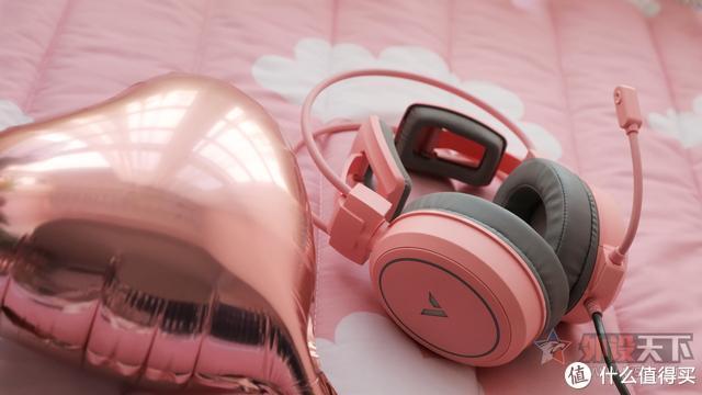 情人节:雷柏耳机专属推荐 VH610 女孩子最爱的粉色系