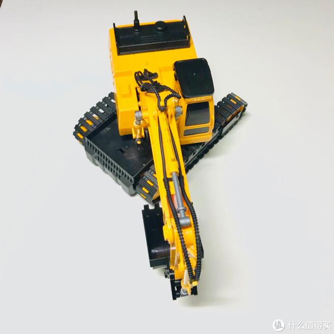 双鹰牌男孩玩具挖掘机开箱使用总结
