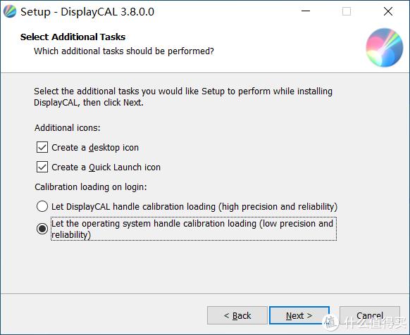 软件安装过程我喜欢选择由win10系统管理色彩文件,这样不需要软件后台常驻,备份校色文件后应用新系统里不需要安装此软件。