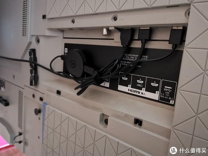 设备上架,电视自带USB接口供电