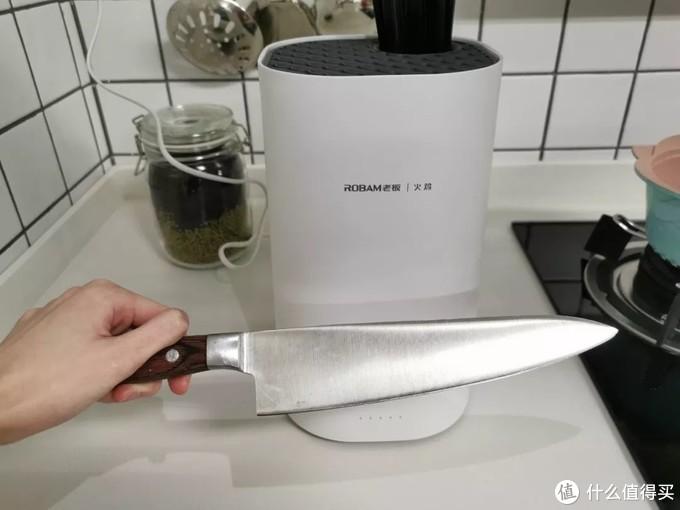 消毒后的刀