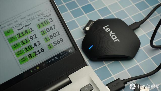 摄影党福利!Lexar 3合1多功能读卡器上手体验:C口确实方便好用