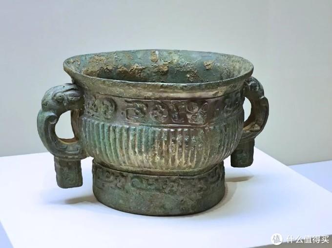 尧公簋 西周早期中国国家博物馆侈口兽首耳高圈足式