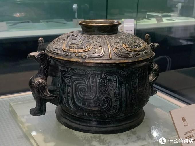 冬簋西周扶风县博物馆鸟耳式