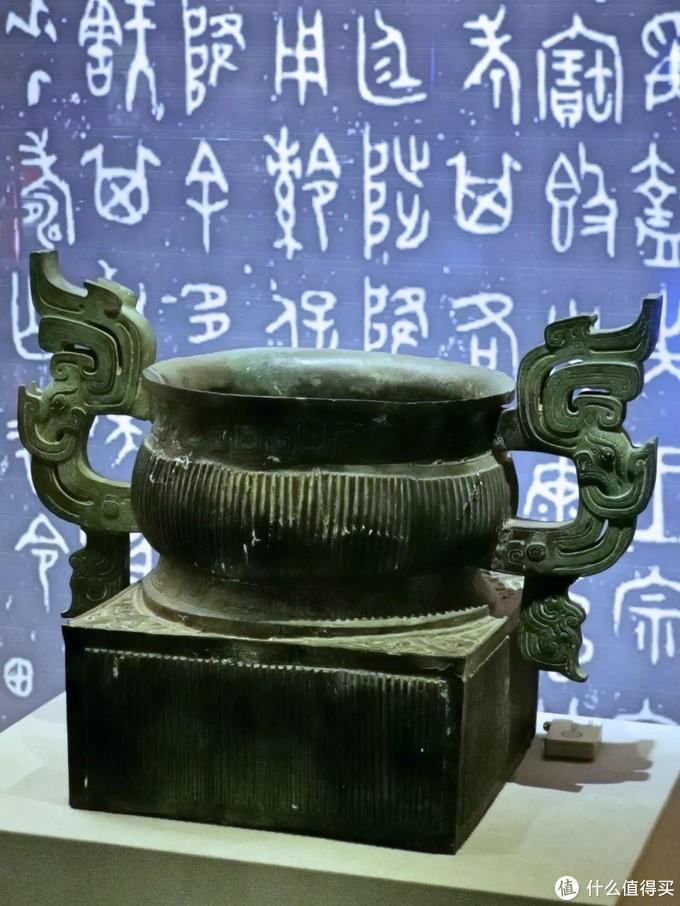 㝬(hú)簋西周 宝鸡青铜器博物院低体宽腹大兽耳式