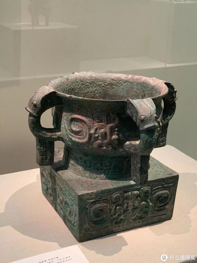 天亡簋 西周早期中国国家博物馆深腹四耳式