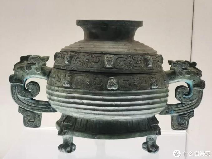 秦公簋春秋 上海博物馆弇口宽体大耳虎足式