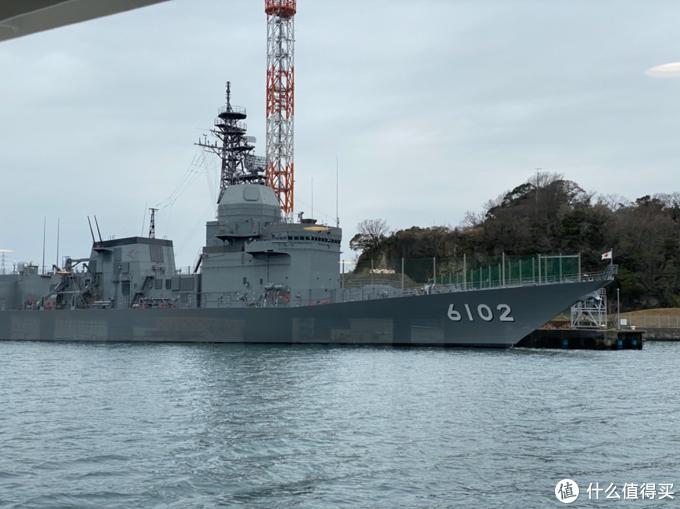 """日本海上自卫队的装备试验平台""""飞鸟""""号试验舰,ASE-6102,元宝妹妹摄"""
