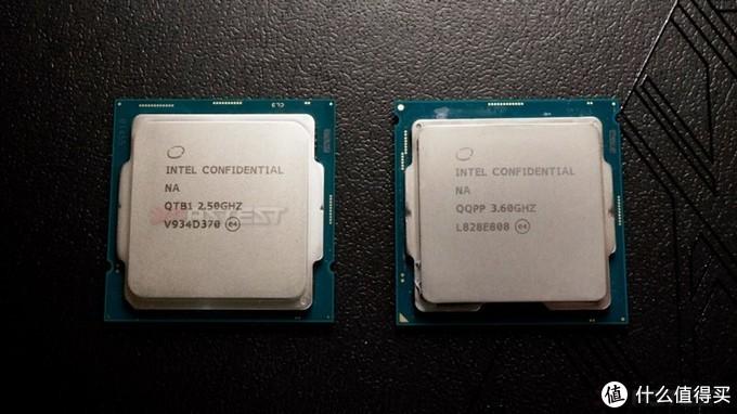 左:i9-10900 右:i9-9900KS