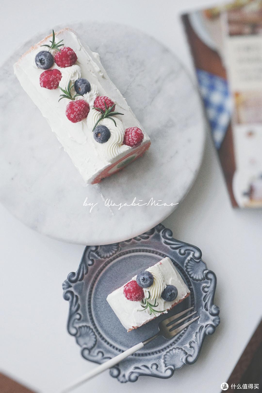 这个春节假期制作的蛋糕卷
