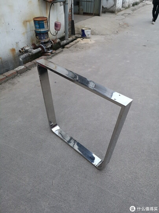 这是询价的时候找卖家要的图,普通不锈钢