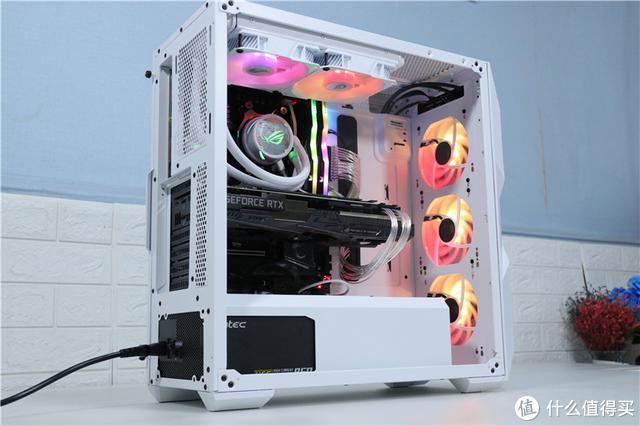 个性不张扬,玩转几何线条!酷冷至尊TD500 MESH机箱装机分享