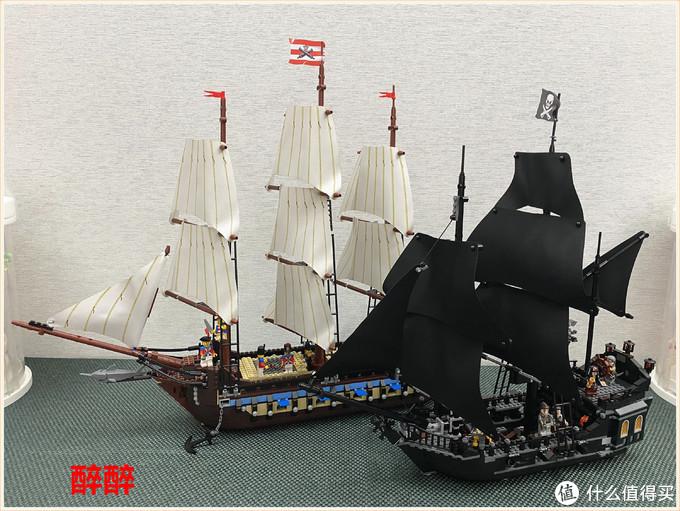 卡库积木KK19001(黑珍珠号)
