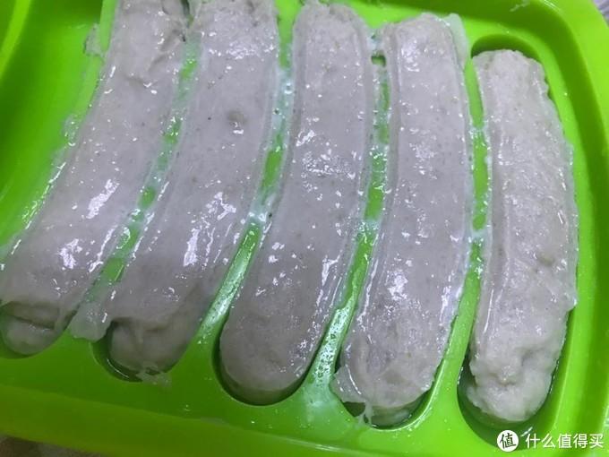 宝宝辅食之山药猪肉肠(不用加淀粉哦)