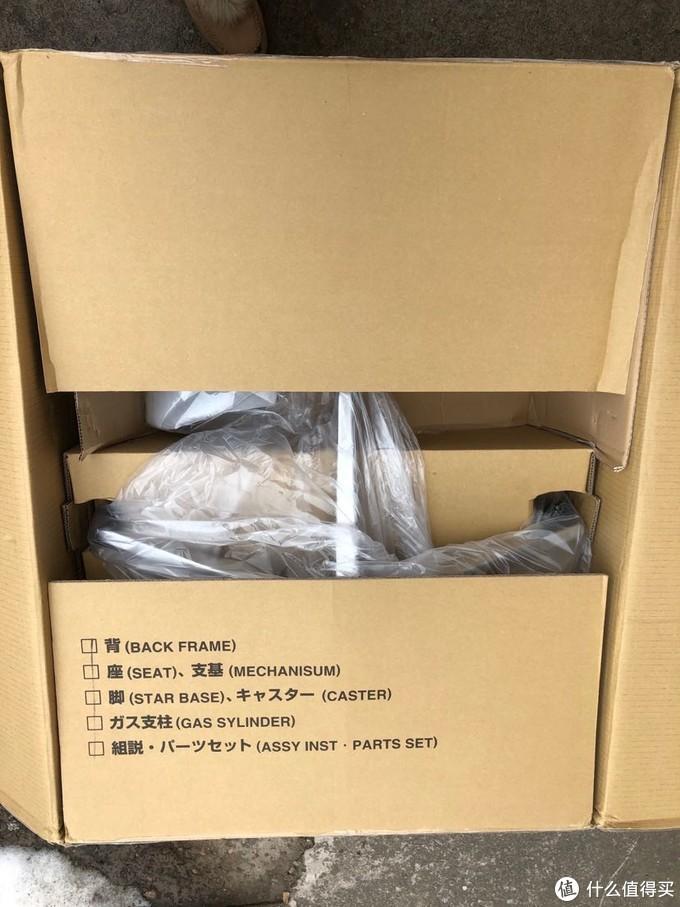 打开包装箱就能看到组件清单