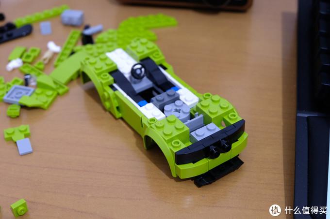 森宝 赛车名车系列 607016迈凯伦P1 开箱体验
