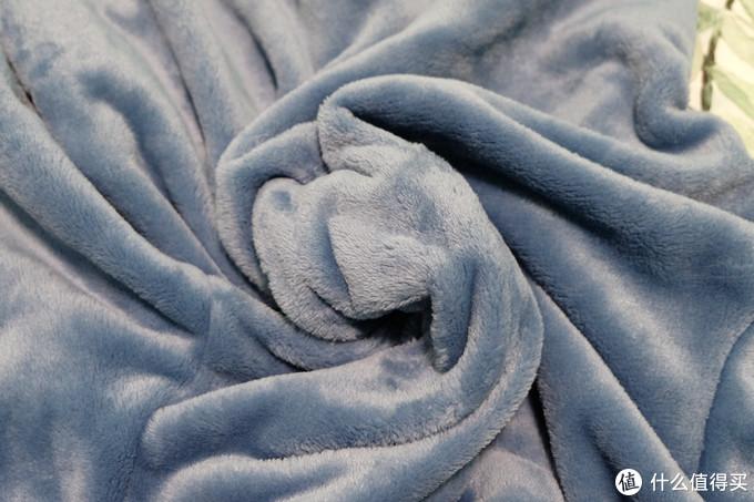 跟着大妈买,芬腾 女款珊瑚绒翻领睡衣 灰兰 入手体验