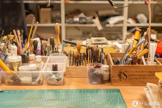 桌面上的工具