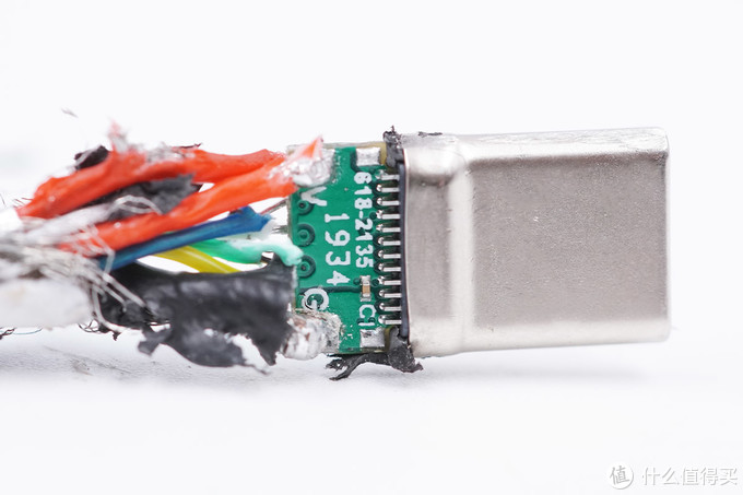 拆解报告:AENZR 100W USB-C to USB-C快充编织线