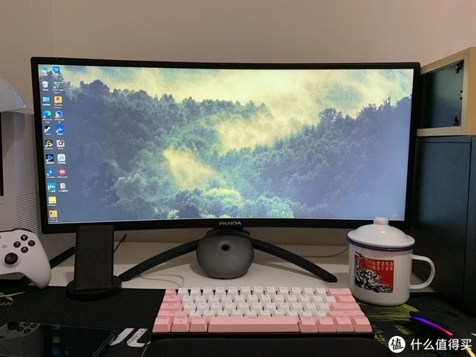 此刻的电脑桌面