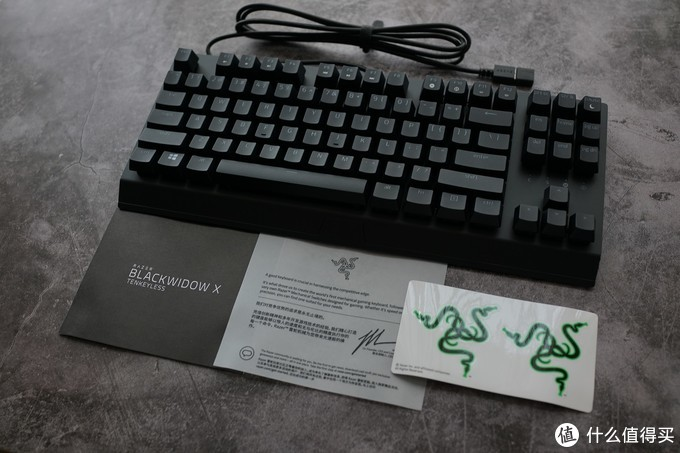 简单纯粹又够绿——雷蛇黑寡妇蜘蛛X竞技版背光款机械键盘体验分享