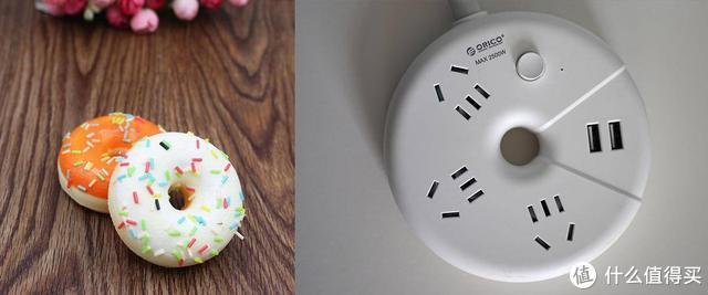 甜甜圈玩跨界?Orico桌面插排竟玩起可爱风