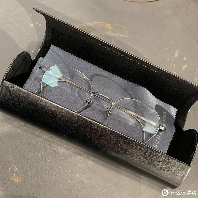 人生第一副手造眼镜,刷抖音入坑masunaga。