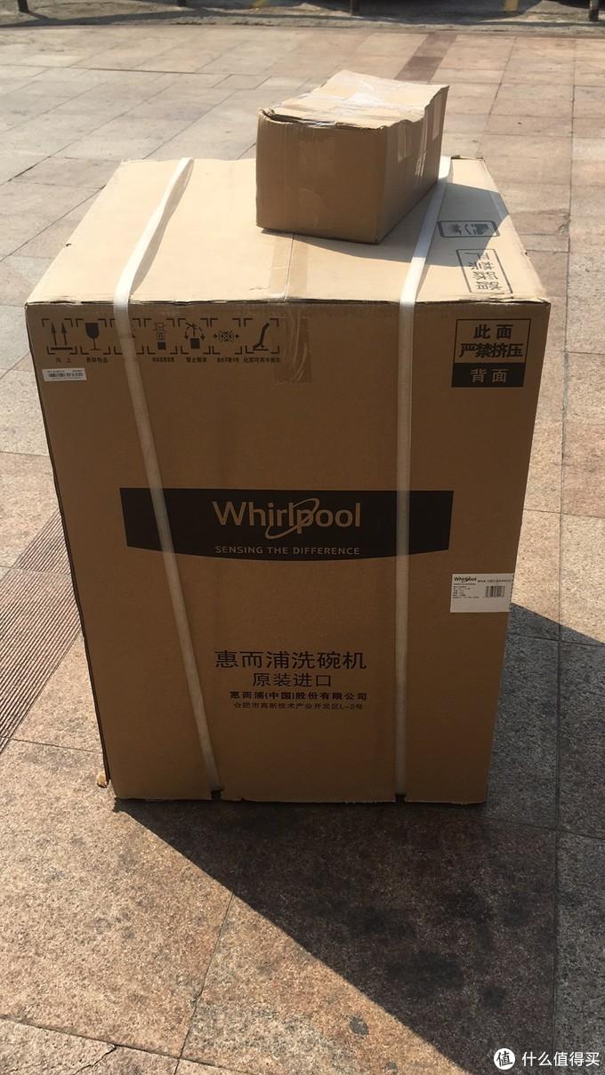 惠而浦台嵌两用洗碗机WFC 3C22PX CN3C22的开箱、安装、使用初体验