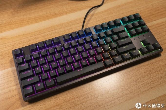 灯光有什么用,乱七八糟的?杜伽K320 RGB-NS真香!