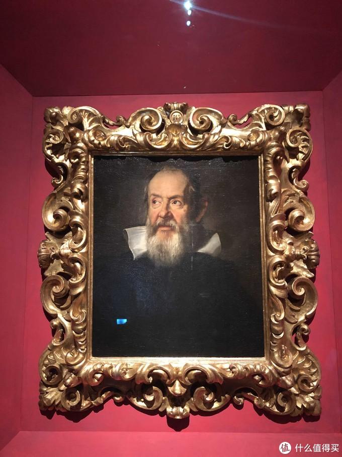 伽利略肖像(课本常见)